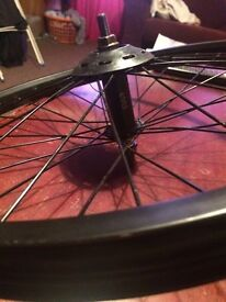 Bmx cult front wheel OPEN TO OFFERS LOOK AT MY OTHER ITEMS