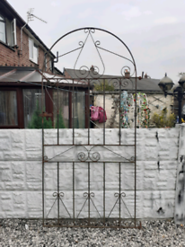 Wrought iron gate / entry gate / tall gate / side gate / metal gate