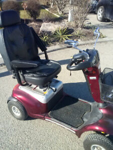 Scooter + you = mobility