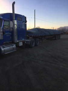 2007 Internalional and 2006 All aluminum 48' trailer for sale