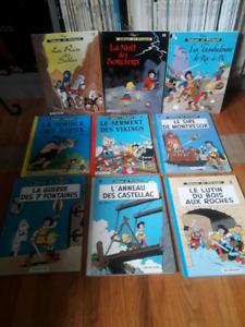 Collection bande dessinée Johan et pirlouit
