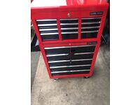 RED/BLACK TOOL BOX