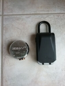 2 very different locks for sale.