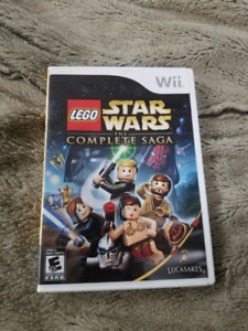 Star wars the Complete Saga Wii game.