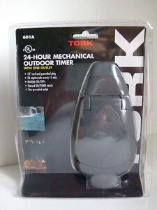 Tork | Minuterie extérieure 24h | 24h mechanical outdoor timer