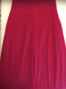 Red Formal Sparkly Dress
