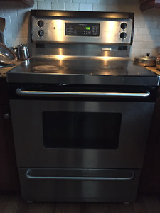 GE convection stove
