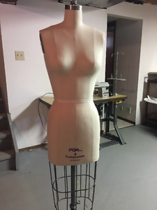 Industry Standard Dressform for Pattern Making/Draping