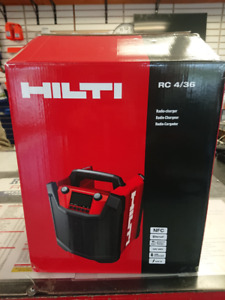 HILTI RC 4/36 12V workplace radio/charger
