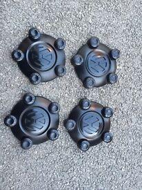VW caddy steel wheel centre caps