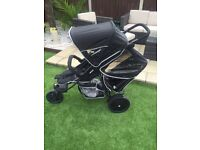 Hauck Free-rider single/double buggy *NEARLY NEW*