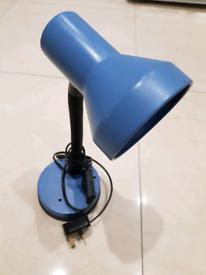 FREE blue desk night lamp