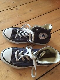 Converse All Star High Top Trainers - UK adult size 1