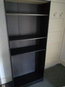Bookcase Colour black