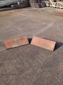 Clay plain angle ridge