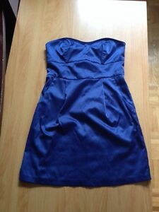 Dress robe small blue whitout straps never worn West Island Greater Montréal image 1