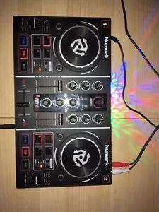 table dj numark party mix