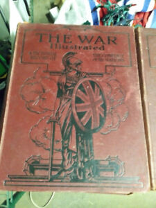 The Great War Illustrated  - Military Books