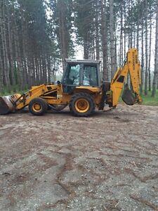 JCB 1400B extra dig backhoe