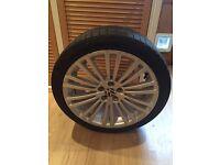 VW R32 Mark 4 Tyre & Wheel