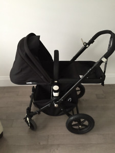 All Black Bugaboo Cameleon