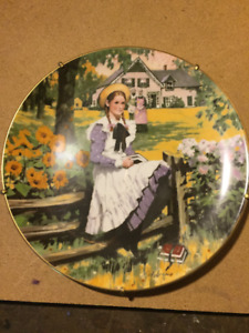 Anne of Green Gables Vintage Plate