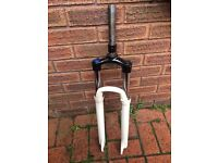 Lock out mountain bike forks