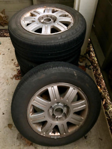 wheels with tires 5x112