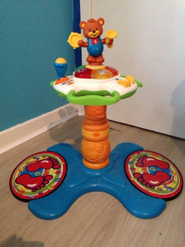 vtech sit to stand dancing tower instructions