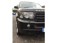 StandardHead lights for Range Rover sports HSE 2006