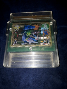 VERY RARE ACTION 52 NES 52 IN 1 CLEAR MULTICART