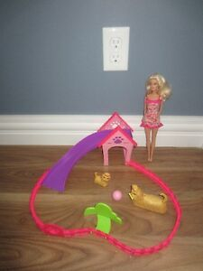 BARBIE PUPPY PLAY PARK - LIKE NEW!