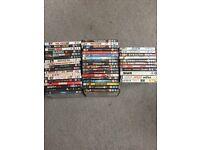 58 DVDs