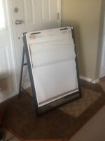 REDUCED:  Adjustable Easel/Flip Chart Stand and Carrying Case