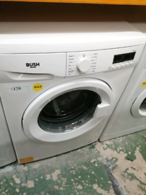 BUSH WASHING MACHINE WHITE 3 MONTHS WARRANTY AT RECYK APPLIANCES