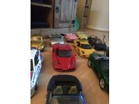 Burago corgi and maisto car collection