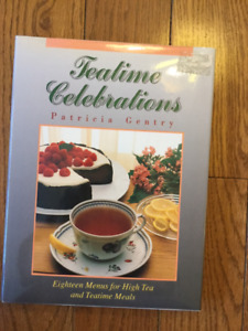 """TEATIME CELEBRATIONS"" MENU COOKBOOK"