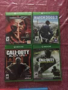 Xbox one games for sale...