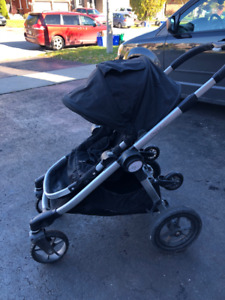 Baby Jogger City Select Stroller, plus 2nd seat and accessories