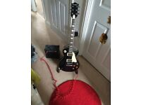 Les Paul style Electric guitar starter pack