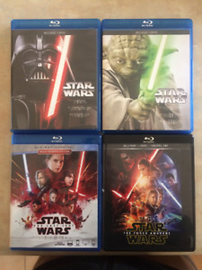 Star Wars BluRay Pack