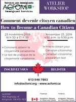 Comment devenir citoyen canadien