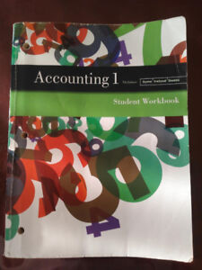 7th edition accounting buy or sell books in ontario kijiji accounting 1 workbook pearson 7th edition grade 11 fandeluxe Image collections