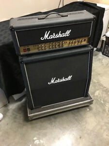 Marshall TSL 100 Cab, Head, and Cases REDUCED