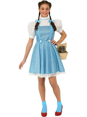 Adult Licensed Wizard of Oz Dorothy Outfit Fancy Dress Costume Ladies Womens (Dorothy Oz Costume Adults)