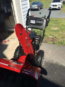 "Craftsman 9/27"" Snowblower Like New! Sell or Trade for Sled"