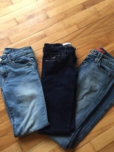 American Eagle Hollister Guess jeans