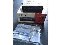 Sony car radio unused
