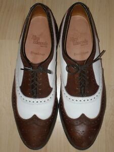 $550 Allen Edmonds Brown Dress Oxfords Specs 9.5