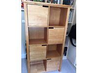 John Lewis Bookcase / Shelf Unit with Doors
